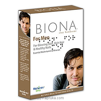 Biona For Men Online at Kapruka | Product# grocery00789