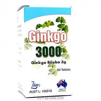 Ginkgo 3000 Online at Kapruka | Product# grocery00791