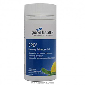 Good Health Epo (vegicap) - 1000 Mg Online at Kapruka | Product# grocery00794