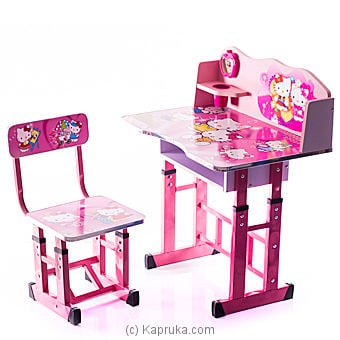 Hello Kitty Kids Study Table Online at Kapruka | Product# childrenP0229