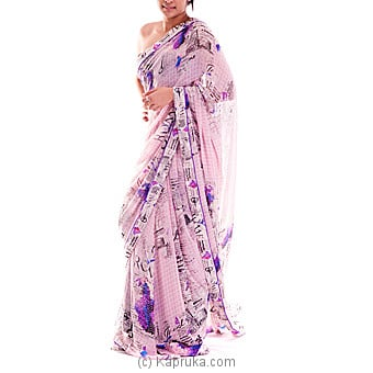 Digital Printed Designer Saree - Kapruka Product clothing0160