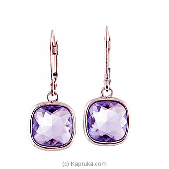 Purple Stone Earring at Kapruka Online for specialGifts