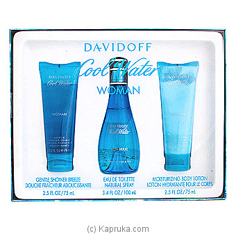 Davidoff Cool Water Gift Set For Her Online at Kapruka | Product# perfume00222
