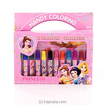 Disney Princess Handy Coloring Pen Box at Kapruka Online for specialGifts