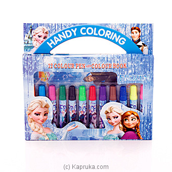 Disney Frozen Handy Coloring Pen Box at Kapruka Online for specialGifts