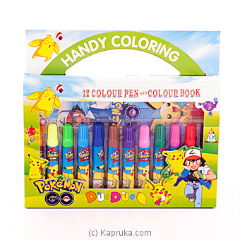 Pokemon Handy Coloring Pen Box Online at Kapruka | Product# childrenP0242