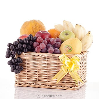 Seasons Delight Fruit Basket Online at Kapruka | Product# fruits00124