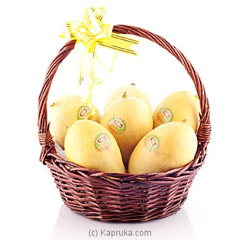 Basket Of TJC Mangoes Online at Kapruka | Product# fruits00125