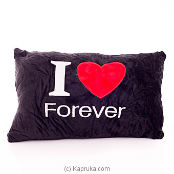 Kapruka Online Shopping Product I Love You Forever Cuddle Pillow
