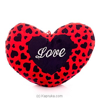 Love Bugs Heart Pillow Online at Kapruka | Product# softtoy00401