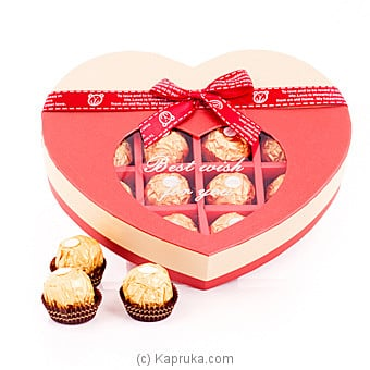 Sweet Love 14 Pices Ferrero Chocolate Gift Box Online at Kapruka | Product# chocolates00486
