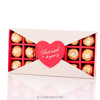 Forever Yours 18 Piece Ferrero Chocolates Online at Kapruka | Product# chocolates00488