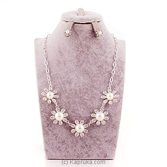 Crystal Stones Jewelry Set Online at Kapruka | Product# stoneNS0295