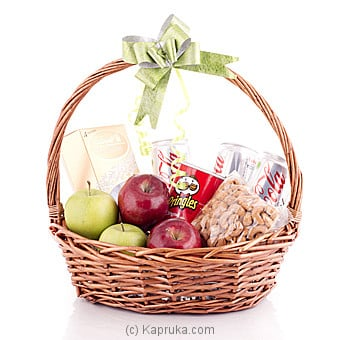 Fruit And Goodies Hamper By LINDT at Kapruka Online forspecialGifts