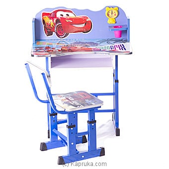 Lighting Mcqueen Kids Study Table Online at Kapruka | Product# childrenP0249
