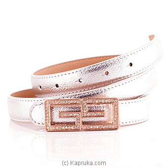 Silver Ladies Belt - Kapruka Product fashion00128
