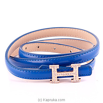 Blue Ladies Belt Online at Kapruka | Product# fashion00136