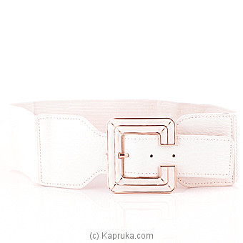 White Elasticated Waistband at Kapruka Online for specialGifts