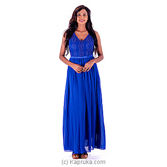 Pearl Blue Party Dress Online at Kapruka | Product# clothing0231