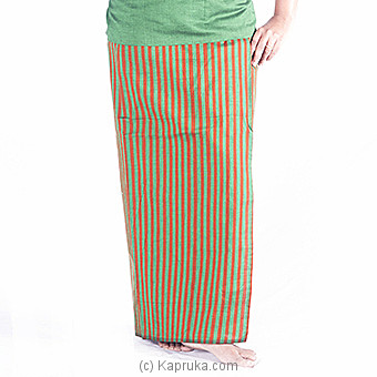 Green And Musterd Green Lungi With Blouse Meterial Online at Kapruka | Product# clothing0235