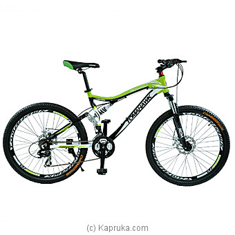 Designer Double Shock Bicycle-26`` Online at Kapruka | Product# bicycle00125