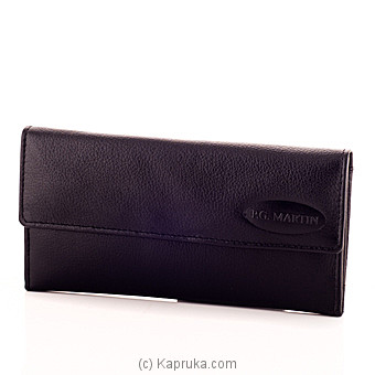 Ladies Wallet-Black at Kapruka Online for specialGifts