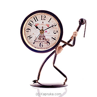 Vintage Table Clock Ornament Online at Kapruka | Product# ornaments00441