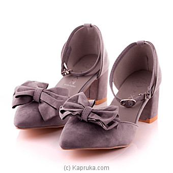 Women`s Gray Pump Shoe - Size 35 Online at Kapruka | Product# fashion00247_TC1