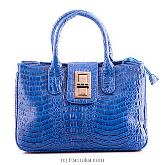 Shiny Blue Shoulder Bag at Kapruka Online for specialGifts