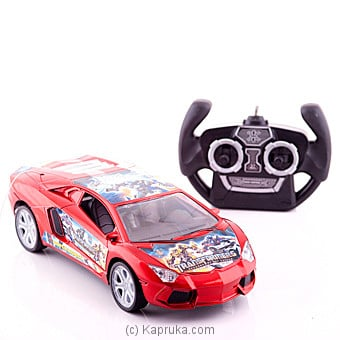 Rc Tranformers Car - Red Online at Kapruka | Product# kidstoy0Z652