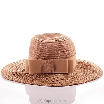 Classic Brown Hat Online at Kapruka | Product# fashion00264