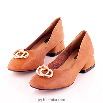 Classic Vanity Brown Flat Shoe at Kapruka Online for specialGifts