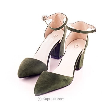 Stylish Ladies Green Pump Shoe Size 35 Online at Kapruka | Product# fashion00274_TC1