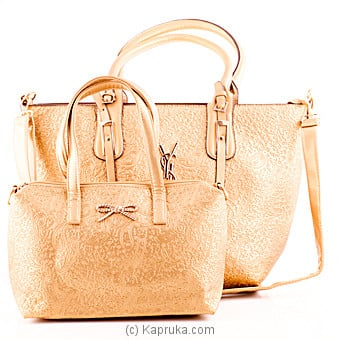 Goldi Ladies Handbag Set Online at Kapruka | Product# fashion00278