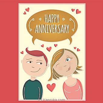 Anniversary Card Online at Kapruka | Product# greeting00Z1233