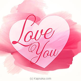 Romance Greeting Cards Online at Kapruka | Product# greeting00Z1241