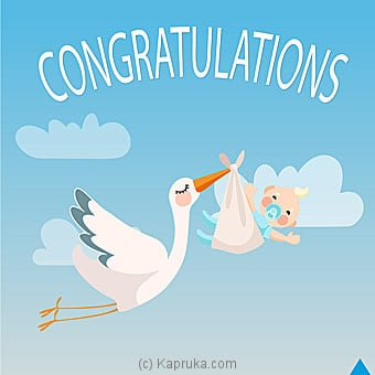 Newborn Card Online at Kapruka | Product# greeting00Z1253