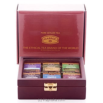 Single Garden Gift Tea Collection 6 X10g Online at Kapruka | Product# grocery00802