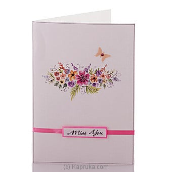 Miss You Card Online at Kapruka | Product# greeting00Z1263