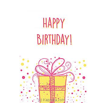 Birthday Greeting Card Online at Kapruka | Product# greeting00Z1279