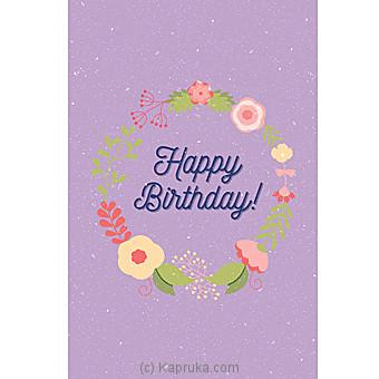 Birthday Greeting Card Online at Kapruka | Product# greeting00Z1288