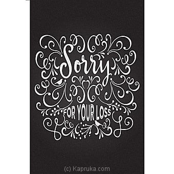 I Am Sorry Card Online at Kapruka | Product# greeting00Z1299