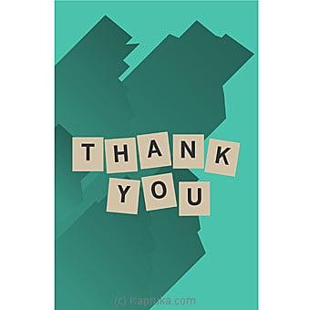 Thank You Card Online at Kapruka | Product# greeting00Z1304