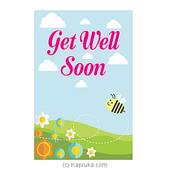 Get Well Soon Card Online at Kapruka | Product# greeting00Z1286