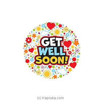 Get Well Soon Card Online at Kapruka | Product# greeting00Z1284