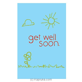 Get Well Soon Card Online at Kapruka | Product# greeting00Z1277