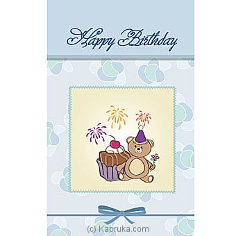 Birthday Greeting Card Online at Kapruka | Product# greeting00Z1327