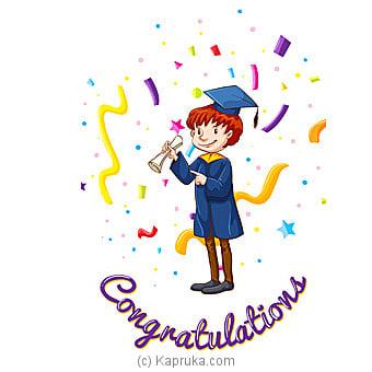 Congratulations Greeting Card Online at Kapruka | Product# greeting00Z1323