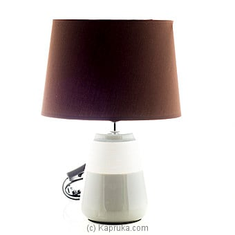 Brown Ceramic Table Lamp at Kapruka Online for specialGifts