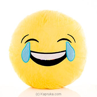 Emoji Cushion Crying With Laughing Online at Kapruka | Product# softtoy00426